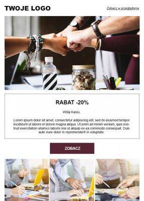 szablon dla personalizwanej kampanii mailingowej