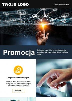 szablon dla innowacyjnej firmy