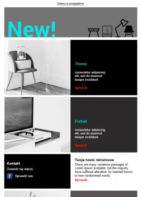 szablon dla branży design