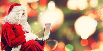 Mikołaj korzysta z email marketingu na święta - dlaczego warto