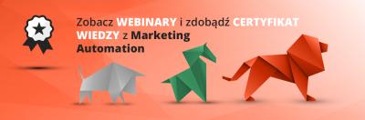 webinary certyfikat wiedzy z zakresu marketing automation