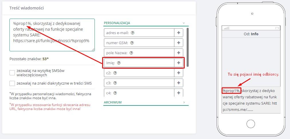 SMS Marketing Personalizacja
