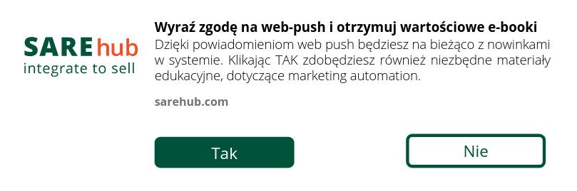 informacja byotrzymywac notyfikacje web push nawitrynie