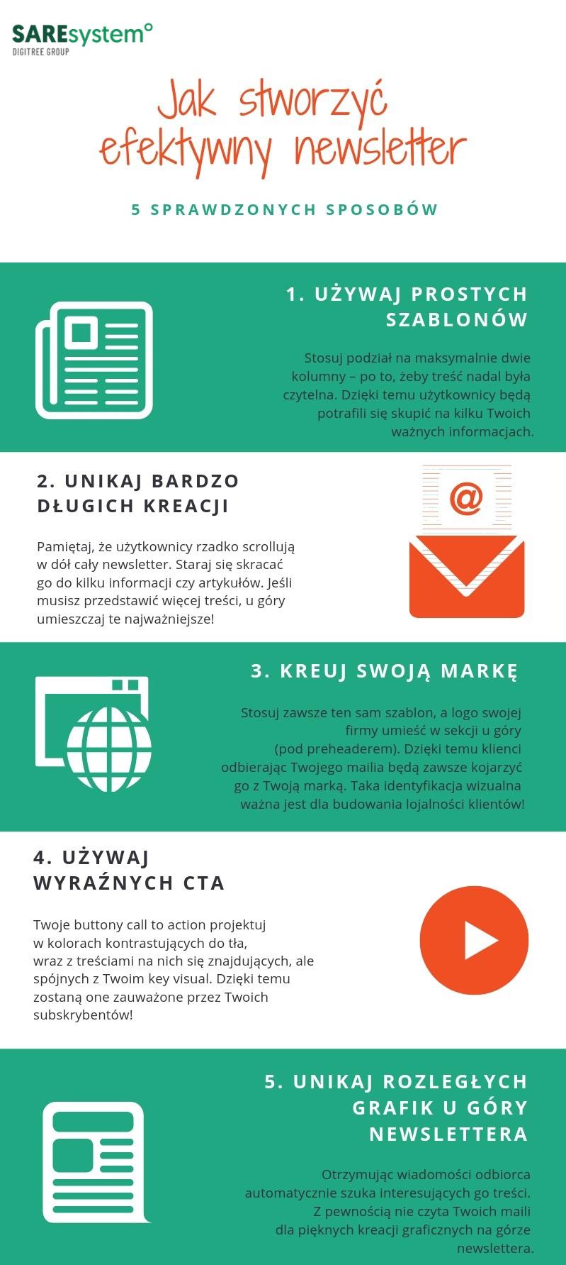 Jak stworzyć efektywny newsletter