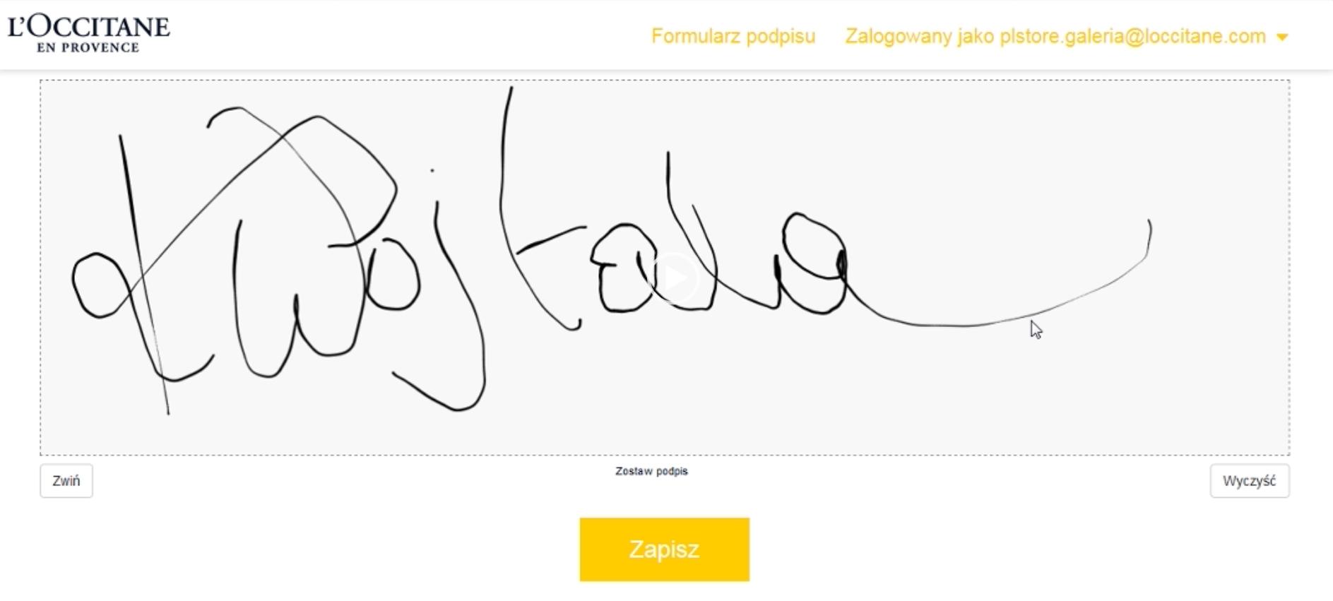 Aplikacja dozbierania podpisów - rozwiązanie marketingowe dla bankowości